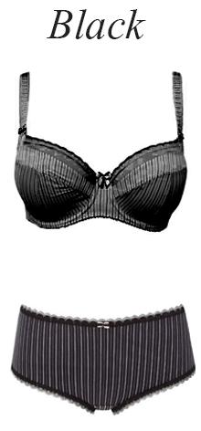 Fantasie Lois Black bra and brief
