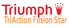 triumph triaction fusion star logo