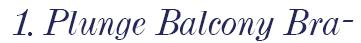 freya pansy plunge balcony bra logo