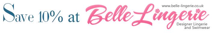 save 10% at belle lingerie banner