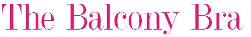 the balcony bra pink logo belle lingerie