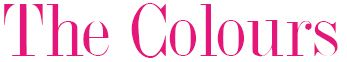 the colours pink logo