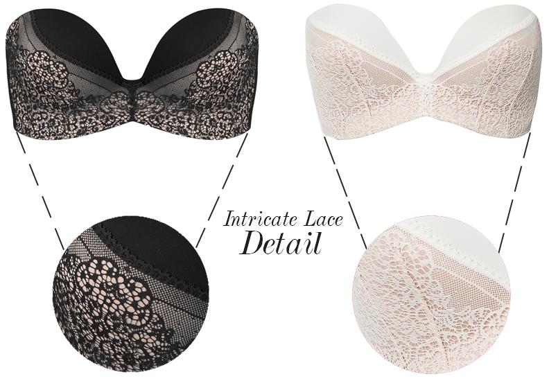 wonderbra ultimate lace bra detail