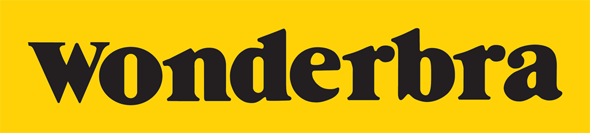 Wonderbra yellow and black logo