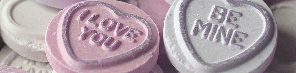 belle lingerie valentines blog love heart sweet banner