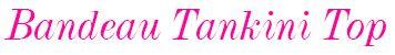 3690 Freya Rock The Beach Bandeau Tankini Top logo