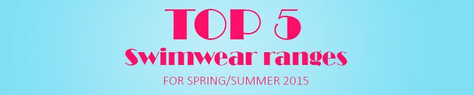 Belle Lingerie Top 5 Swimwear Ranges for 2015 Blog Banner