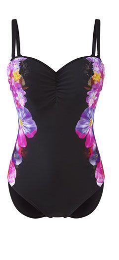 SW0780 Panache Savannah Swimsuit Floral Print