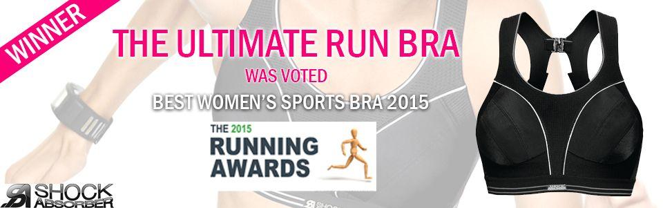 Shock Absorber Run Bra 5044 Black winner at the running awards 2015