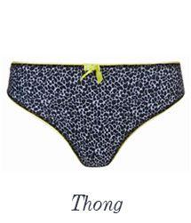 freya lingerie deco zest thong