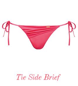 8862 Gossard Sienna Tie Side Bikini Brief Soft Red