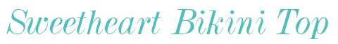 3240 Freya Bondi Sweetheart Padded Bikini Top label