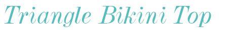 3242 Freya Bondi Soft Triangle Bikini Top