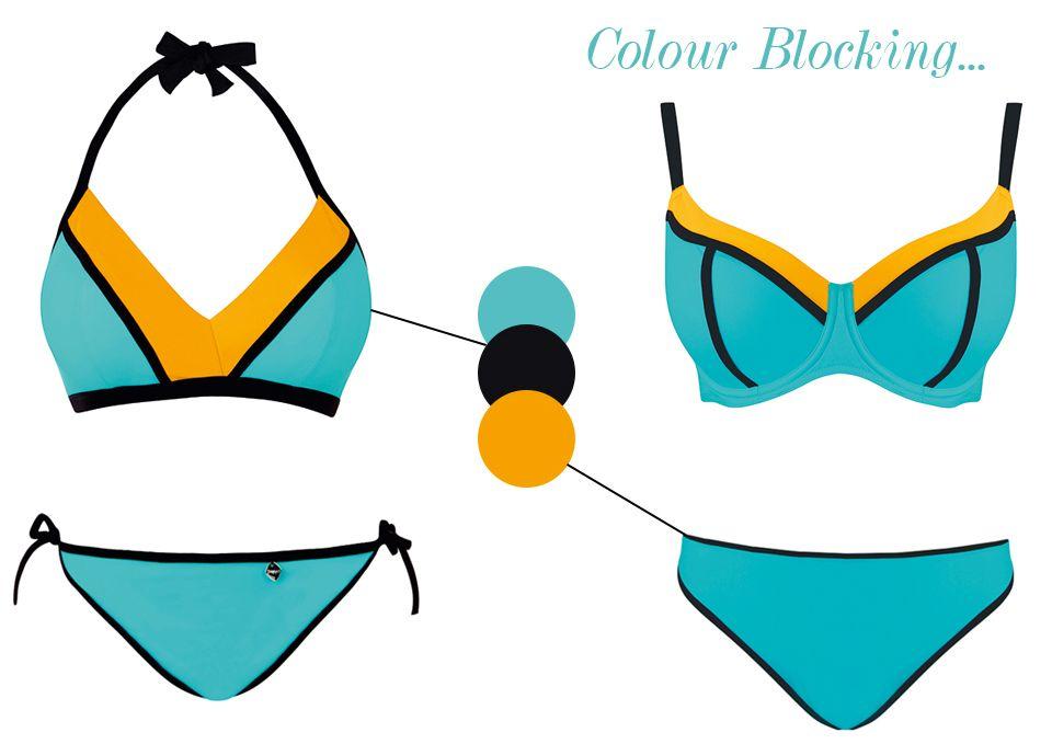 freya bondi seaspray bikini colour block swimwear