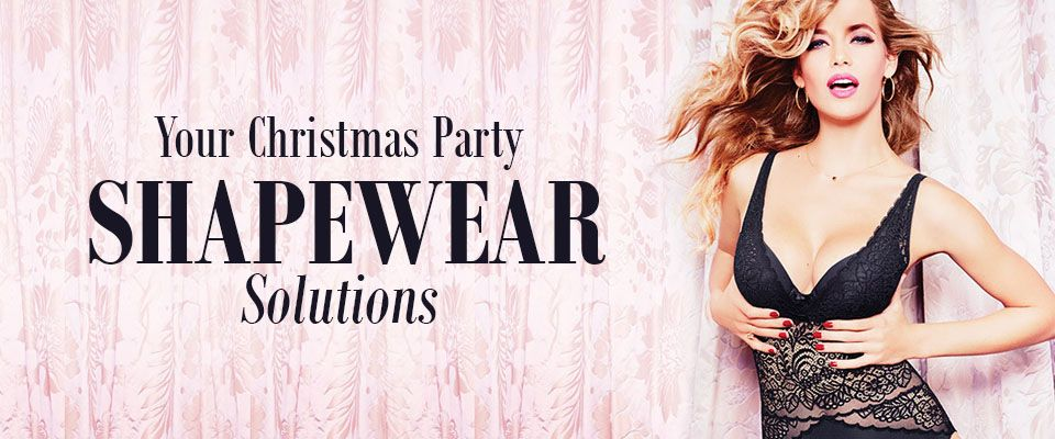belle lingerie shapewear solutions for your Christmas party dress
