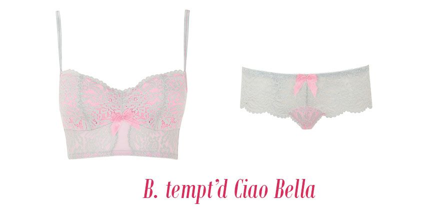 b. tempt'd lingerie ciao bella high rise