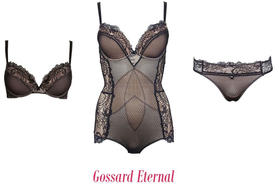 gossard lingerie eternal black lace