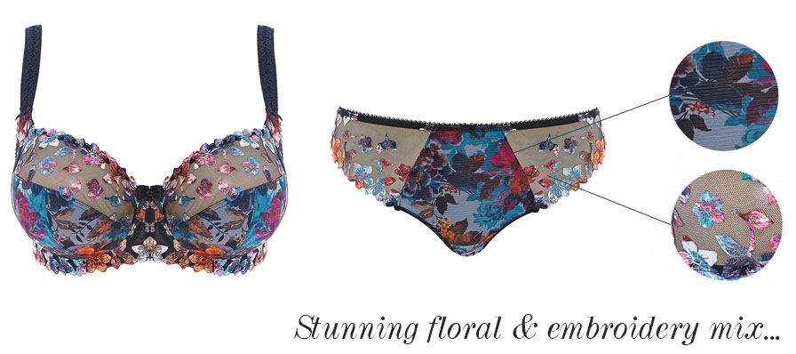 fantasie amelie twilight floral embroidery