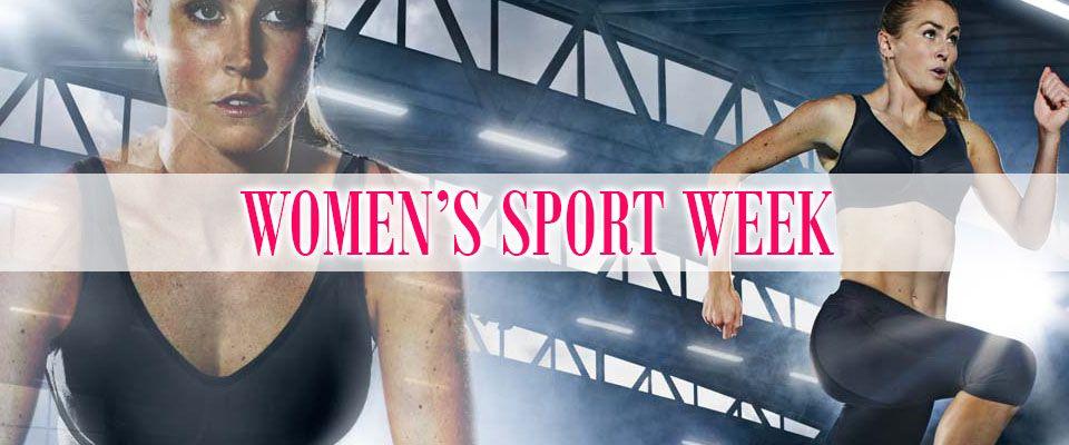 women's sport week blog banner