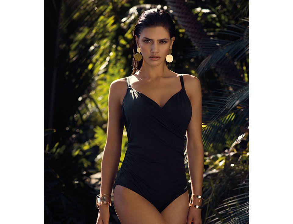 6157 Fantasie Los Cabos Underwired Wrap Swimsuit black