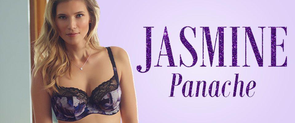 6951 Panache Jasmine Balcony Bra orchid print