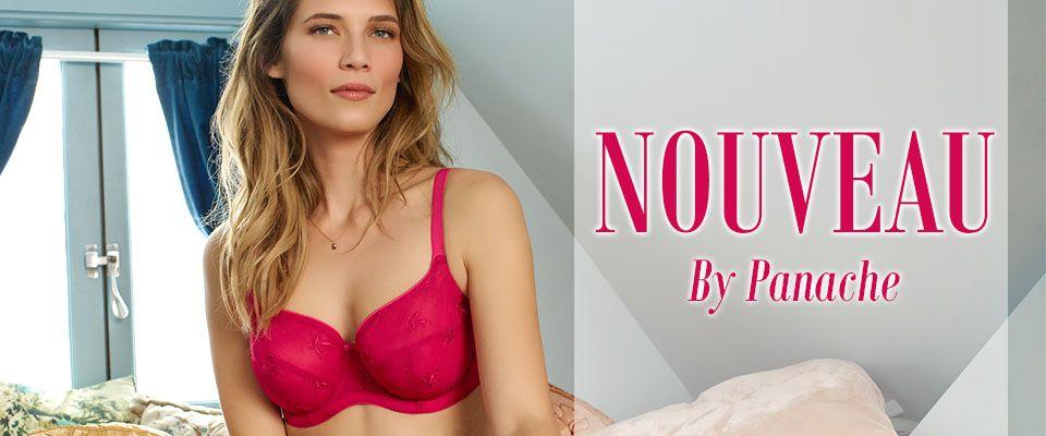 panache nouveau cherry blush lingerie