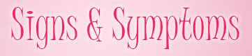 breast cancer signs & symtoms