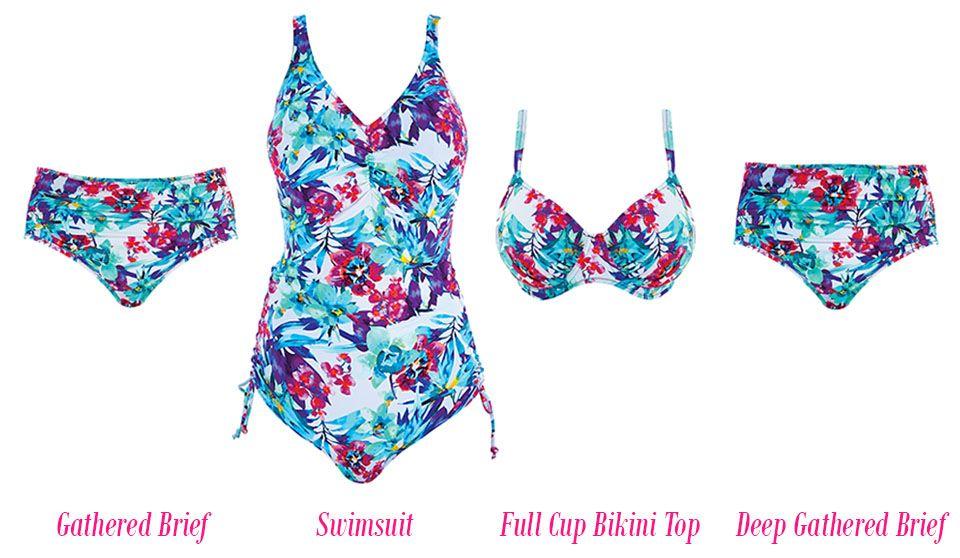 fantasie sardinia swimwear multi print mix & match