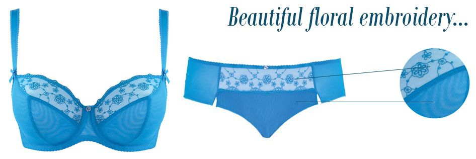 curvy kate florence pacific blue embroidery detail