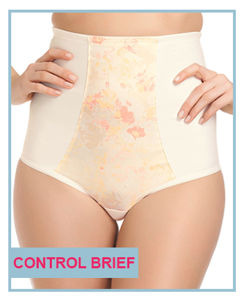 belle lingerie bridal guide control brief