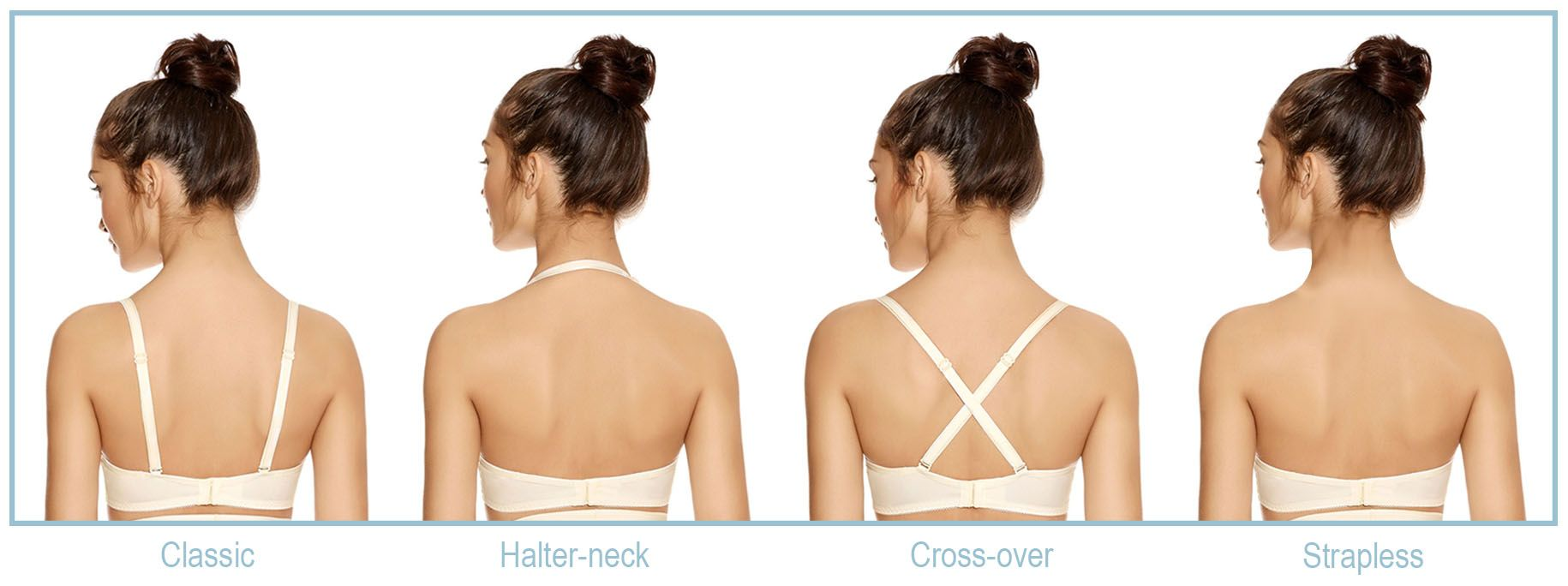 multiway bra strap examples strap options