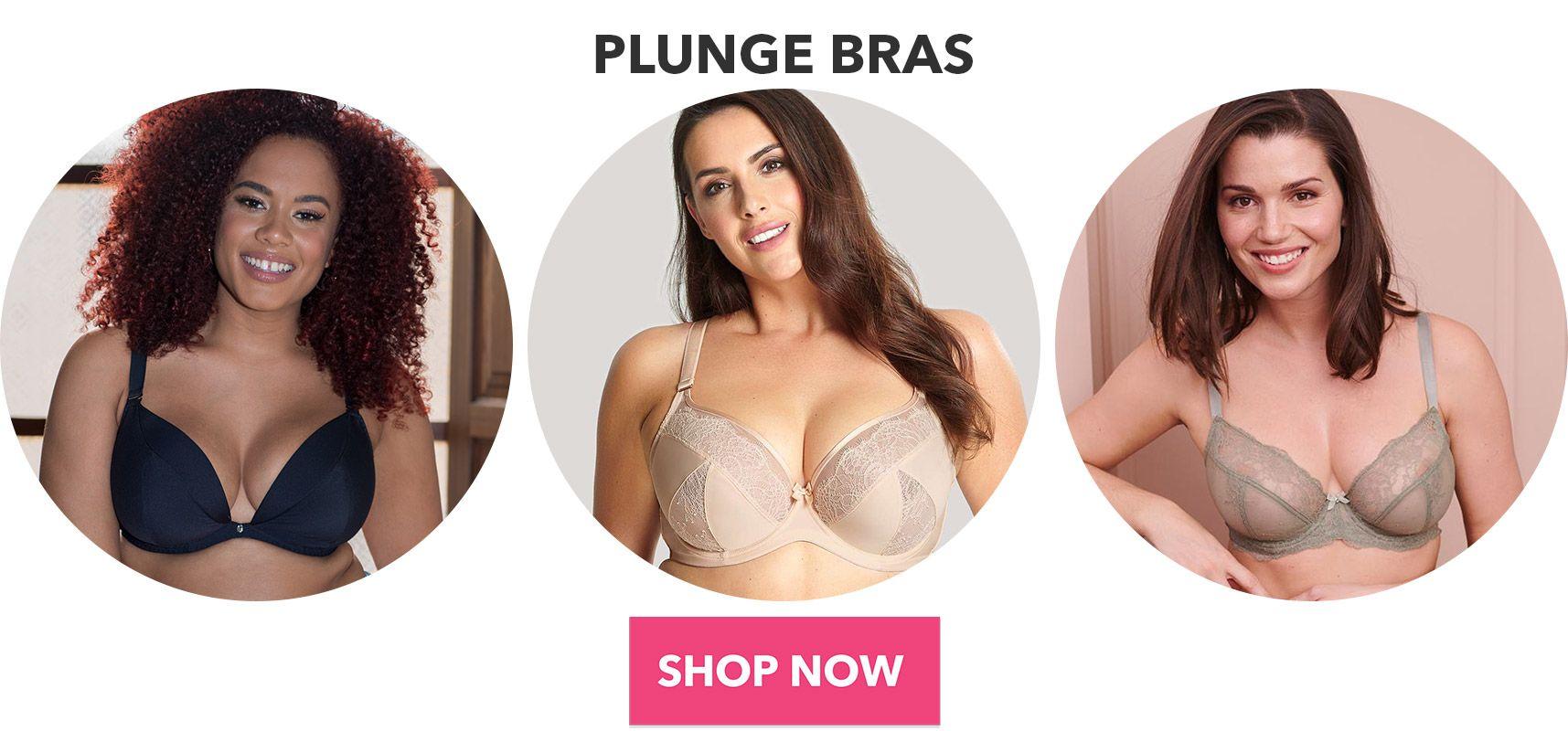 plunge bras shop now