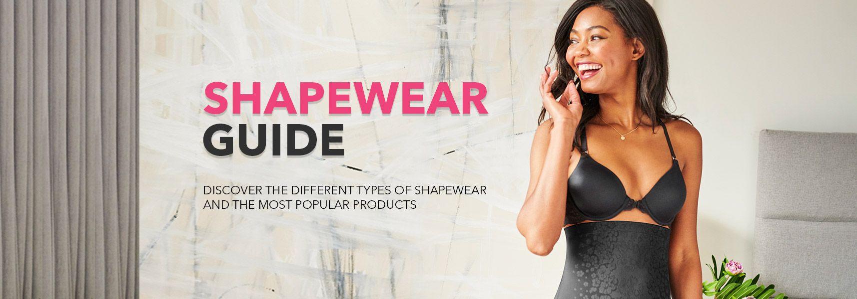 Belle lingerie shapewear guide. Discover popular shapewear styles banner image