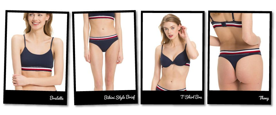 Tommy Hilfiger strip collection