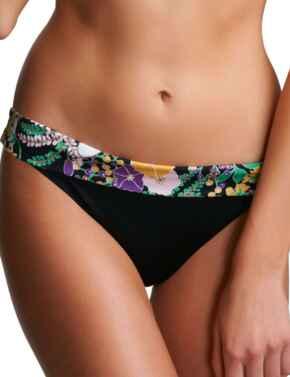 3456 Freya Adelphi Fold Bikini Brief - 3456 Black