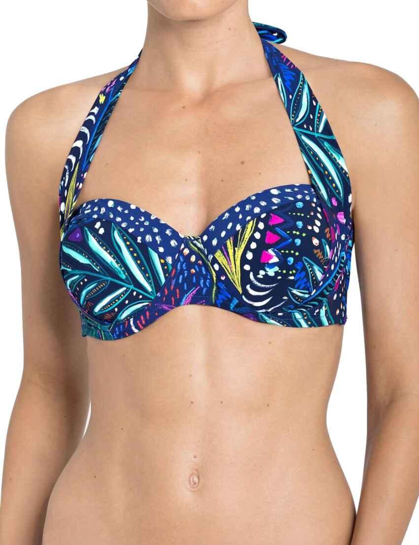 b00c82a12b662 Outlet · 10167480 Triumph Painted Leaves Magic Wire Bikini Top - 10167480  Bikini Top
