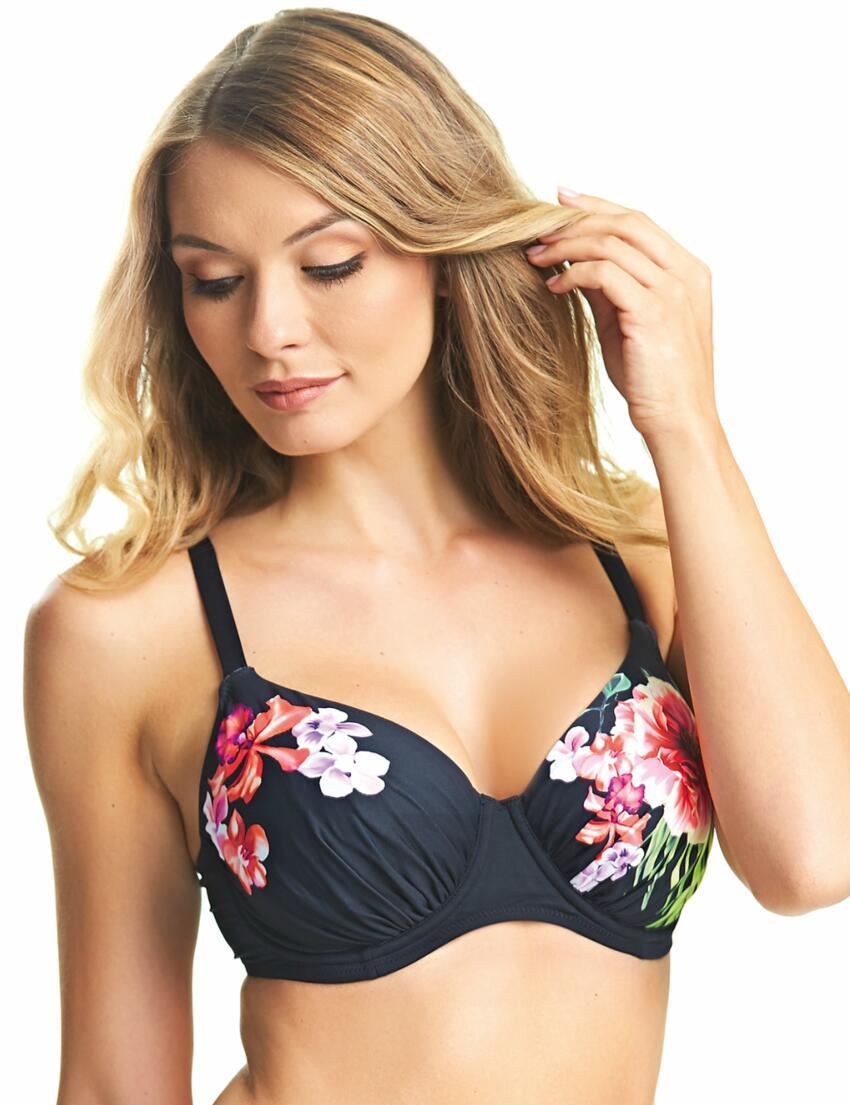 b8c65b487 Damenmode Fantasie Amalfi Underwired Gathered Full Cup Bikini Top 6525 Multi
