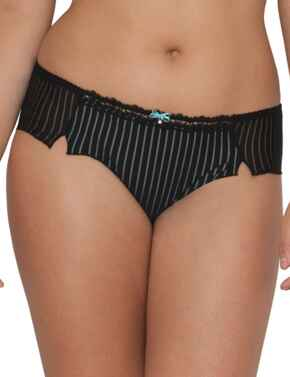 2103 Curvy Kate Ritzy Short  - SG2103 Black/Aqua