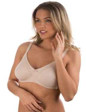 86545 Naturana Cotton Soft Cup Bra - 86545 Skin