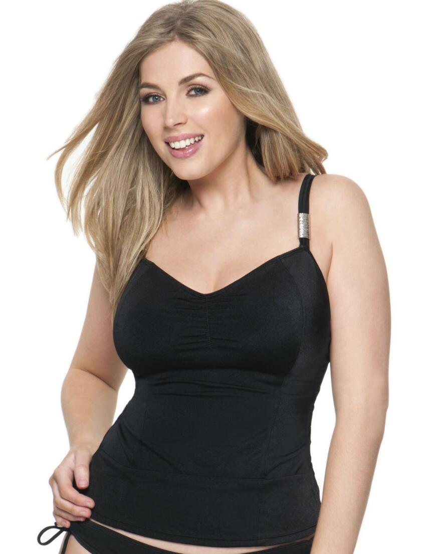 CS1606 Curvy Kate Jetset Tankini Top - CS1606 Tankini Top