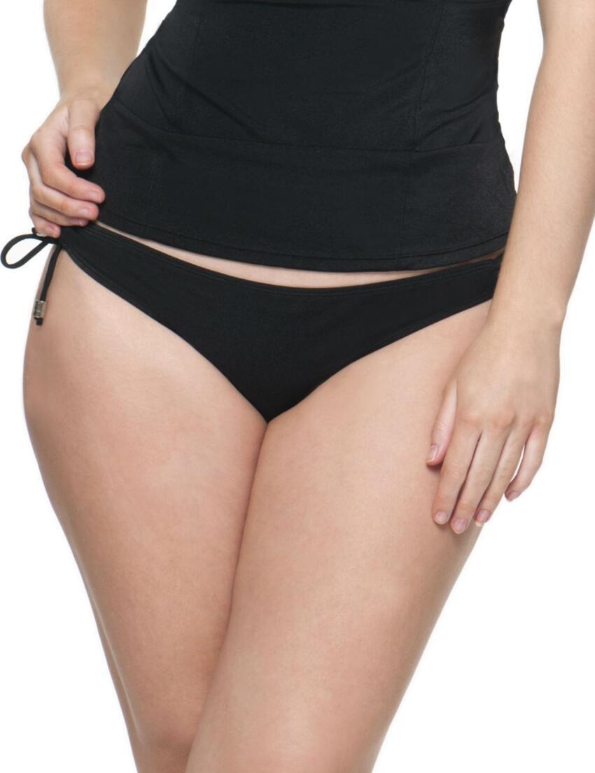 CS1645 Curvy Kate Jetset Ruched Mini Bikini Brief - CS1645 Mini Brief