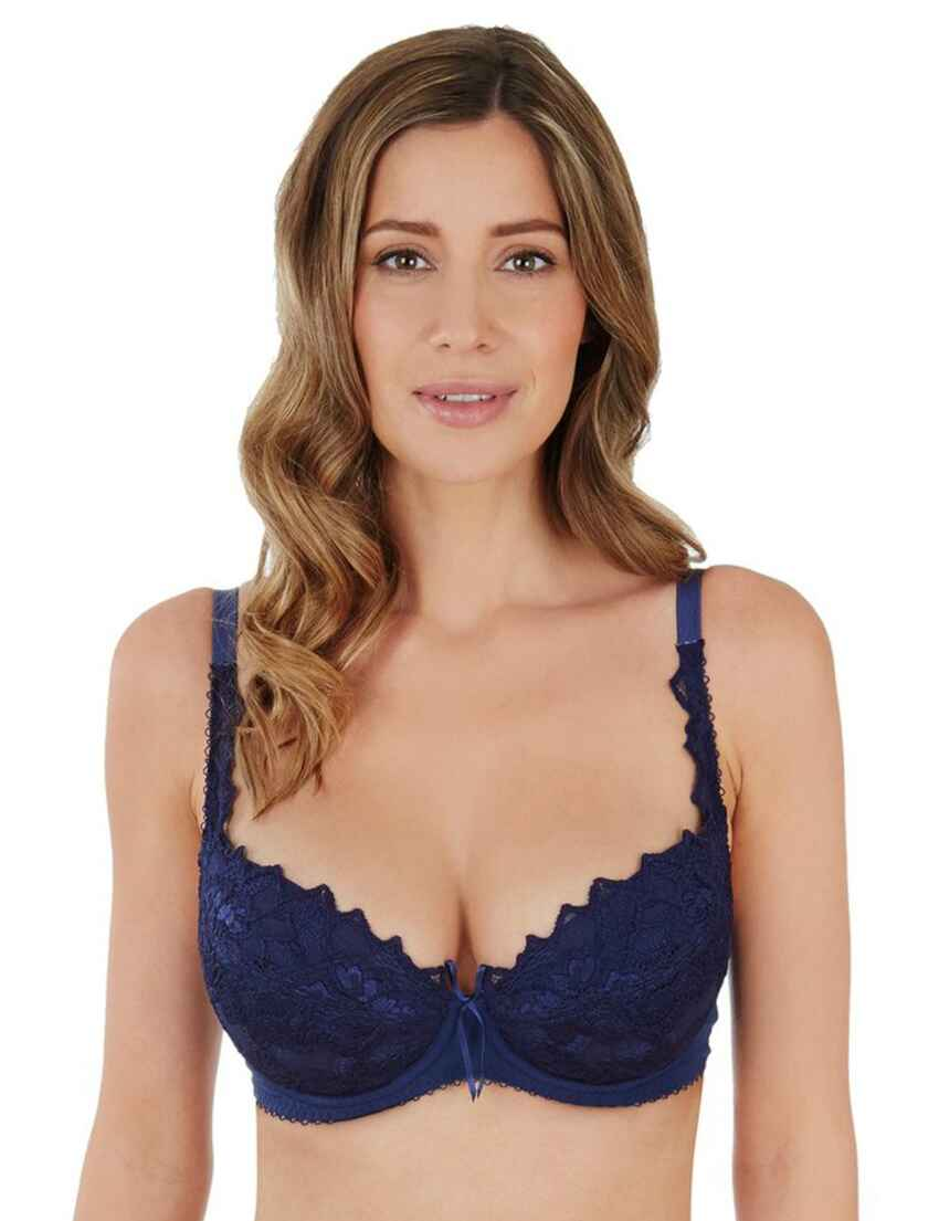 25a9e85e42 Save · 0932000 Lepel Fiore Padded Plunge Bra - 93200 Navy