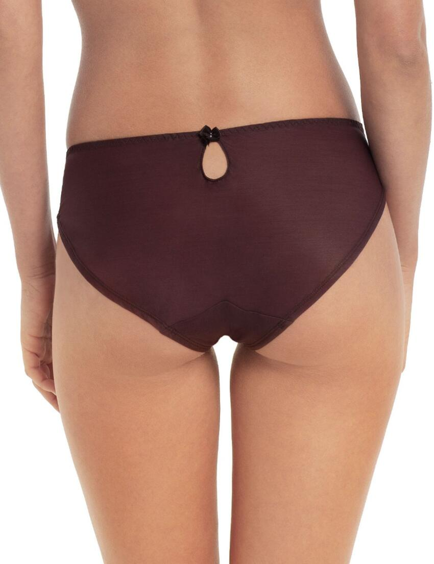 3255 Panache Tango II Brief Chocolate/Pink - 3255 Brief