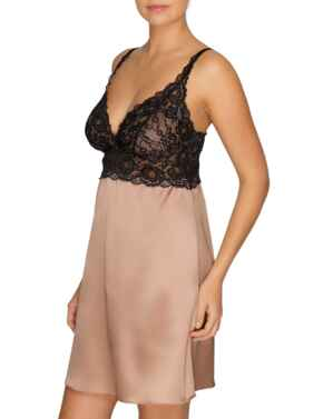 0862781 Prima Donna By Night Nightdress - 0862781 Black/Cream