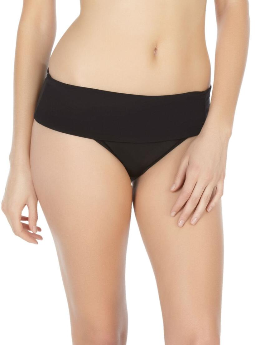 SW0757 Panache Halle Fold Bikini Brief Black - SW0757 Fold Pant
