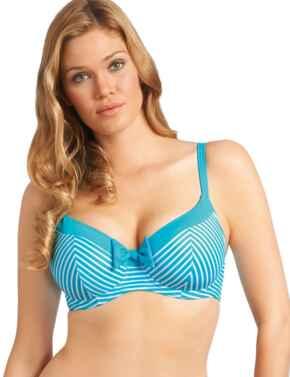 3602 Freya Tootsie Sweetheart Bikini Top  - 3602 Azure