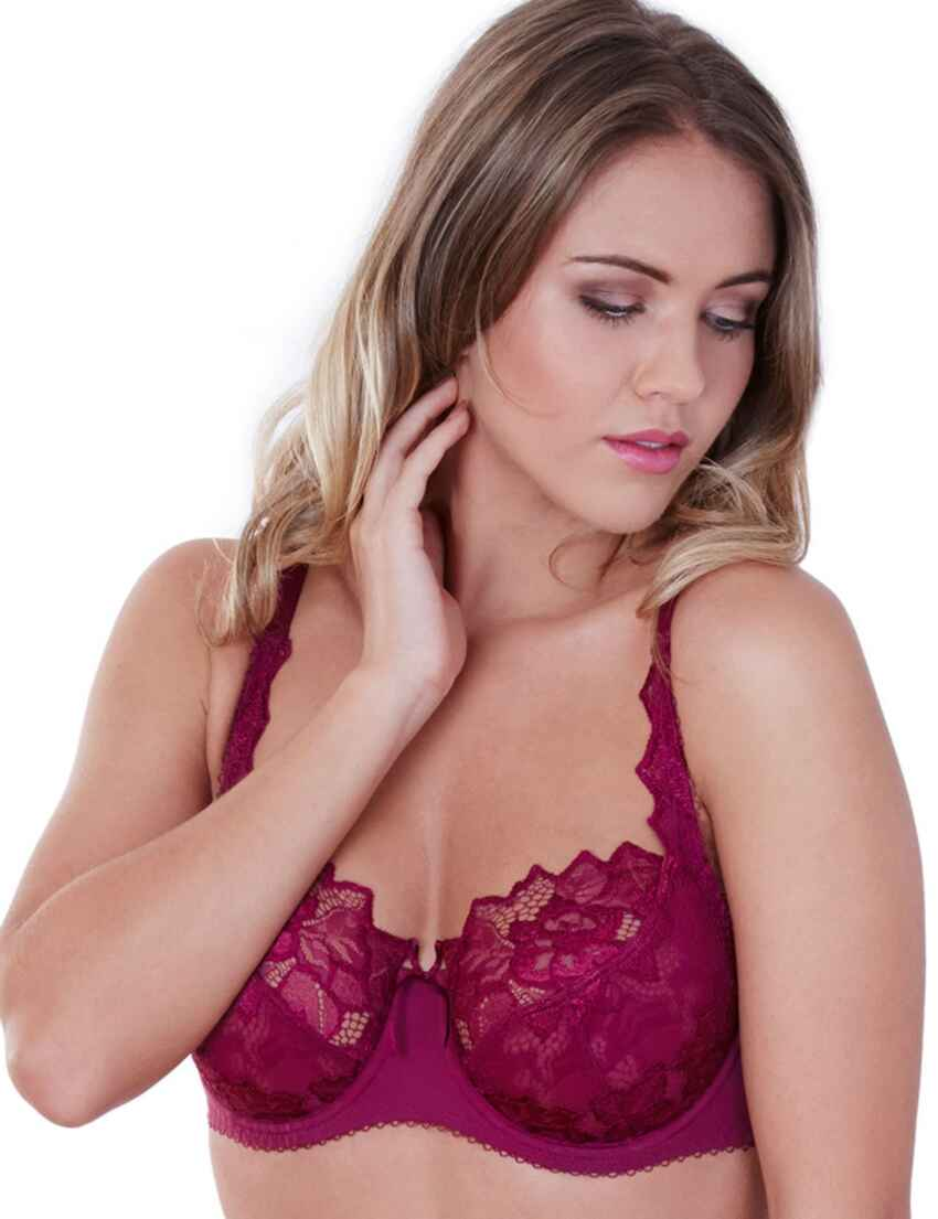 a593043249 Save · 0932290 Lepel Fiore Full Cup Bra Deep Berry - 0932290 Deep Berry