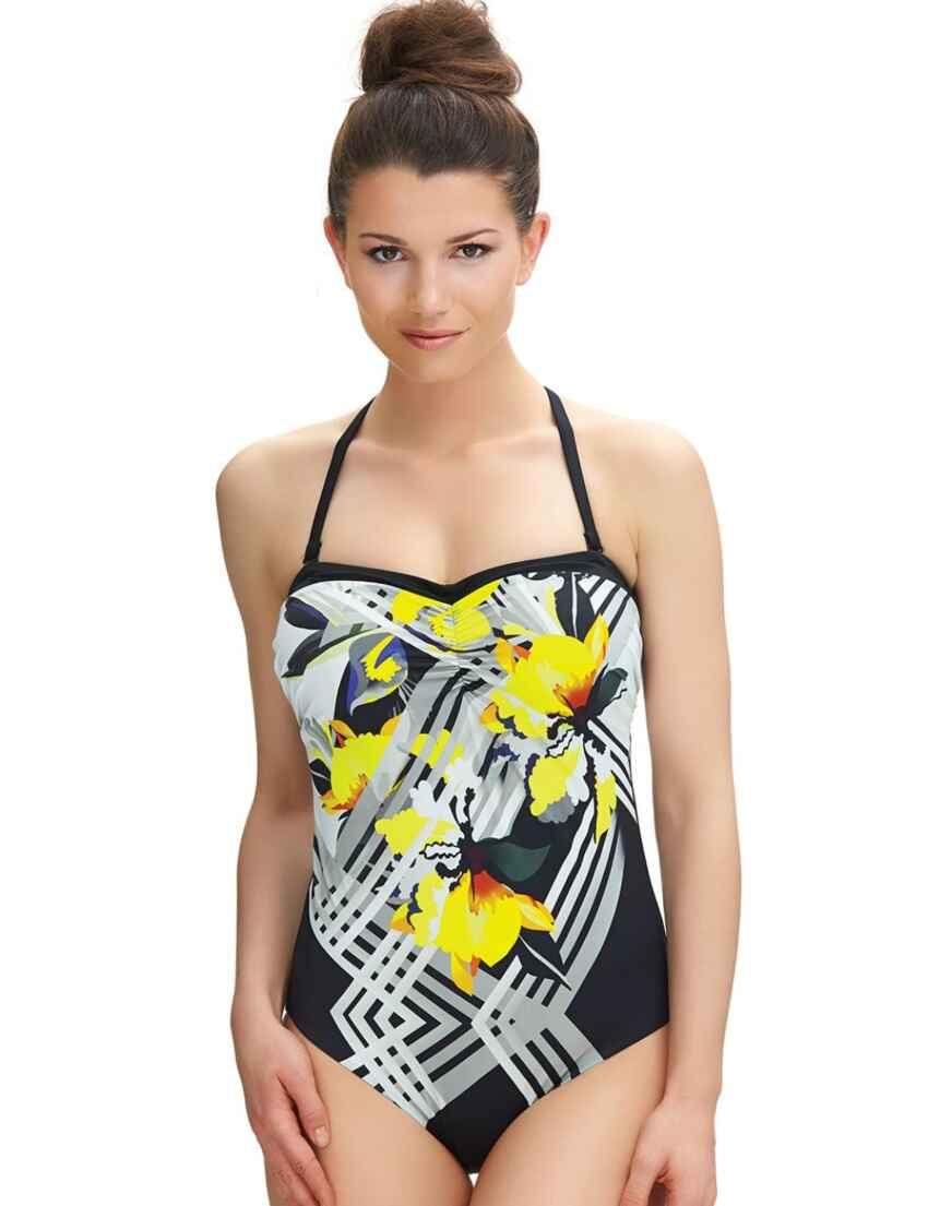 5c7e4e3e8b Outlet · 6199 Fantasie Beziers Control Swimsuit Black - 6199 Swimsuit