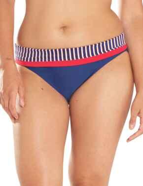 CS4725 Curvy Kate Ahoy Fold Over Bikini Brief - CS4725 Nautical Stripe