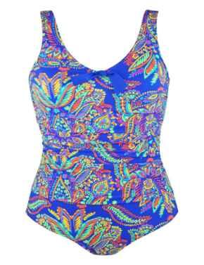 75006 Pour Moi? Amalfi Control Swimsuit - 75006 Blue